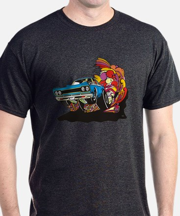 Psychedelic Muscle Car T-Shirt