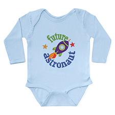 Future Astronaut Long Sleeve Infant Bodysuit