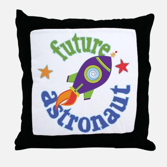 Future Astronaut Throw Pillow