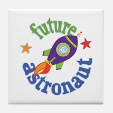 Future Astronaut Tile Coaster