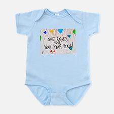 She Loves You.... Infant Bodysuit