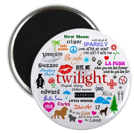 "Twilight Memories 2.25"" Magnet (100 pack)"