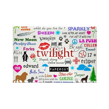 Twilight Memories Rectangle Magnet (10 pack)