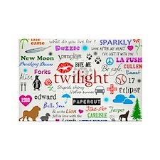 Twilight Memories Rectangle Magnet