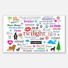 Twilight Memories Sticker (Rectangle)