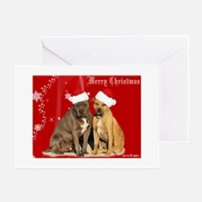 Christmas Pits Greeting Card