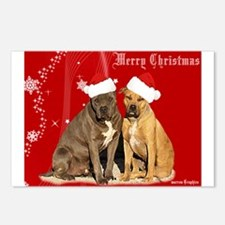 Christmas Pits Postcards (Package of 8)