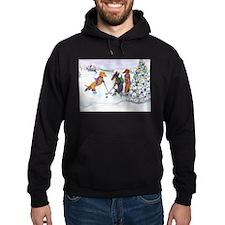 Hockey Dachsies Hoodie