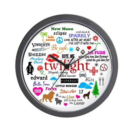 Twilight Memories Wall Clock