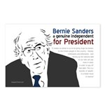 Bernard Sanders for President Postcards