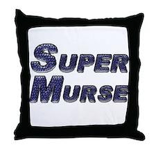 Male nurse Throw Pillow