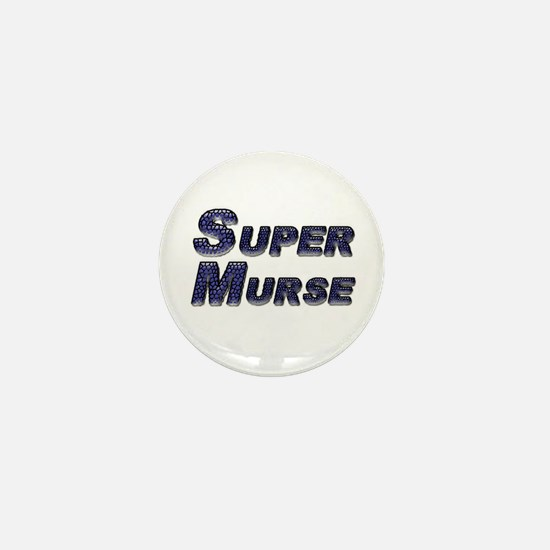 Cute Male student nurse Mini Button