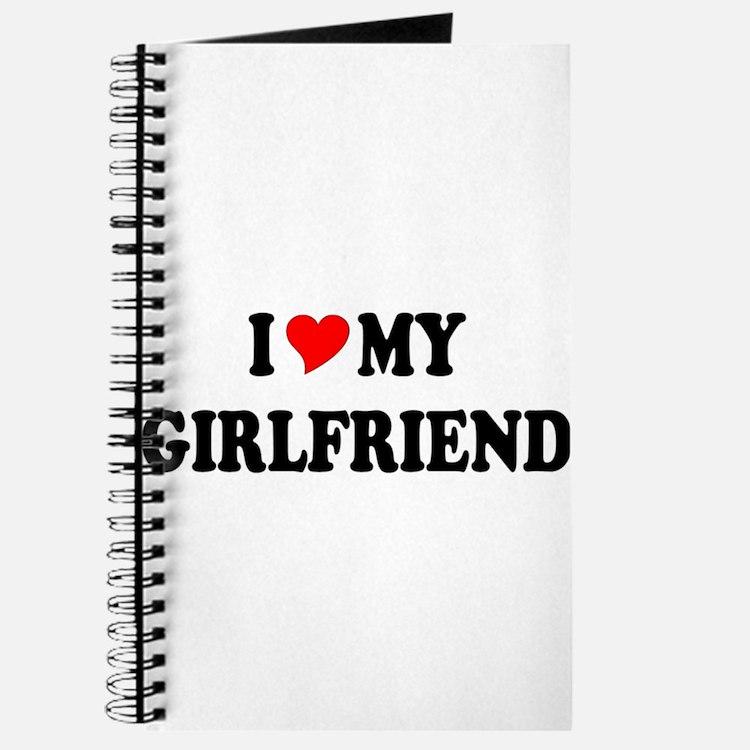Cute I love my girlfriend Journal