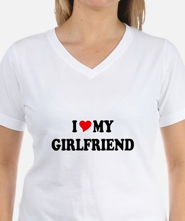 Cute I love my girlfriend Shirt