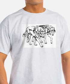 Wolf Tribal T-Shirt