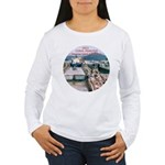 Coral Panama Canal 2011 - Women's Long Sleeve T-Sh