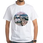 Coral Panama Canal 2011 - White T-Shirt