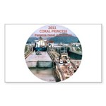 Coral Panama Canal 2011 - Sticker (Rectangle)
