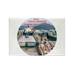 Coral Panama Canal 2011 - Rectangle Magnet (10 pac