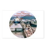 Coral Panama Canal 2011 - Postcards (Package of 8)