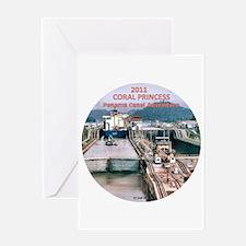 Coral Panama Canal 2011 - Greeting Card