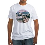 Coral Panama Canal 2011 - Fitted T-Shirt