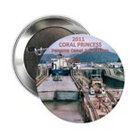 "Coral Panama Canal 2011 - 2.25"" Button (100 pack)"