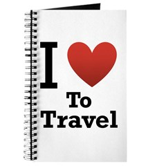 I Love To Travel Journal