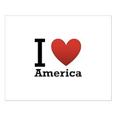 I Love America Posters