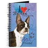 Boston terrier Journals & Spiral Notebooks