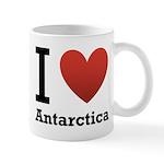 I Love Antarctica Mug