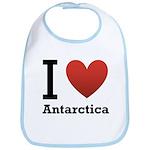 I Love Antarctica Bib