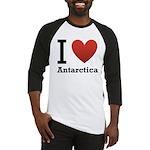 I Love Antarctica Baseball Jersey