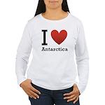 I Love Antarctica Women's Long Sleeve T-Shirt