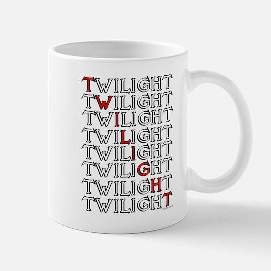 Twilight Text Block by twibaby Mug