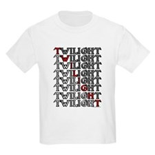 Twilight Cartoon text by twibaby T-Shirt