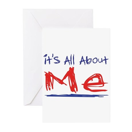 It's all about ME! Greeting Cards (Pk of 20)