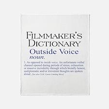 Outside Voice Throw Blanket