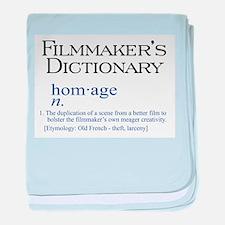 Filmmaker's Dictionary: Homag baby blanket