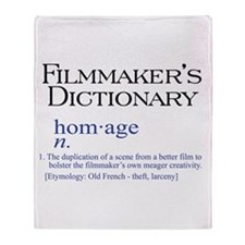 Filmmaker's Dictionary: Homag Throw Blanket
