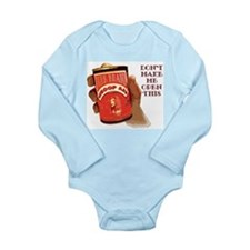 Can 'O Whoop Ass Long Sleeve Infant Bodysuit