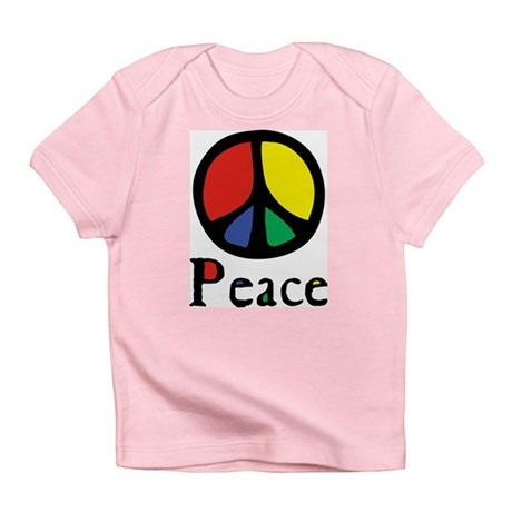 Flowing Peace Colour Infant T-Shirt