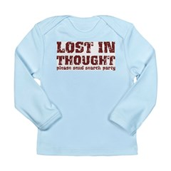Lost in Thought Long Sleeve Infant T-Shirt