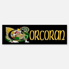 Corcoran Celtic Dragon Bumper Bumper Sticker