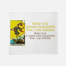 Better Dissatisfied Throw Blanket