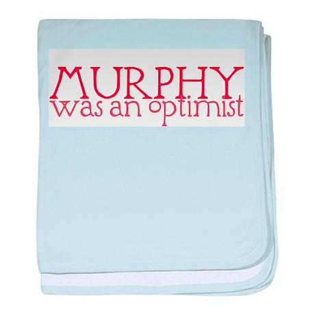 Murphy: Optimist baby blanket