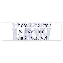 Hane's Law Bumper Sticker