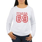 Vintage Italia 69 Women's Long Sleeve T-Shirt