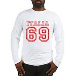 Vintage Italia 69 Long Sleeve T-Shirt