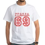 Vintage Italia 69 White T-Shirt